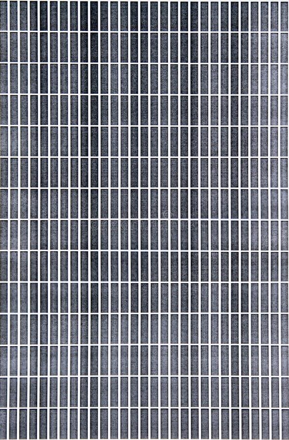 Tegelstenmodelltryck som testar svart f?rgpulver fotografering för bildbyråer