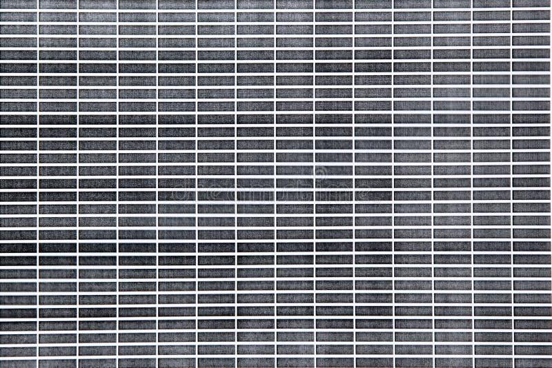 Tegelstenmodelltryck som testar svart f?rgpulver arkivfoton