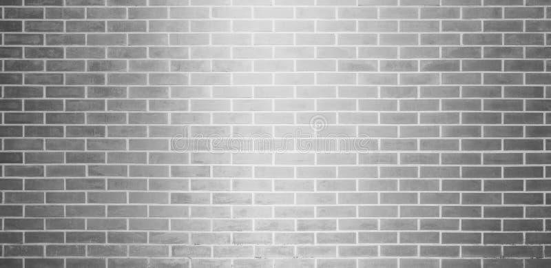 Tegelstenvägg, grå vit bakgrund för textur för tegelstenvägg för grafisk design stock illustrationer