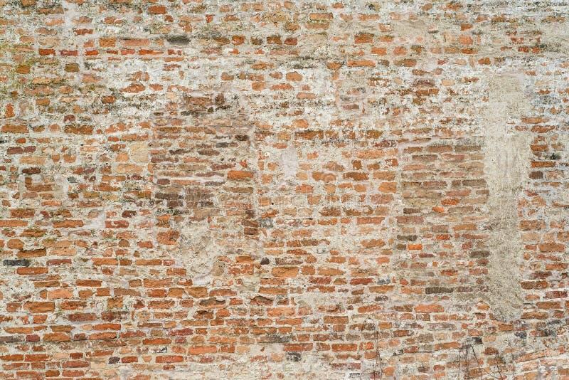 Tegelstenväggen texturerar för bakgrund arkivbild