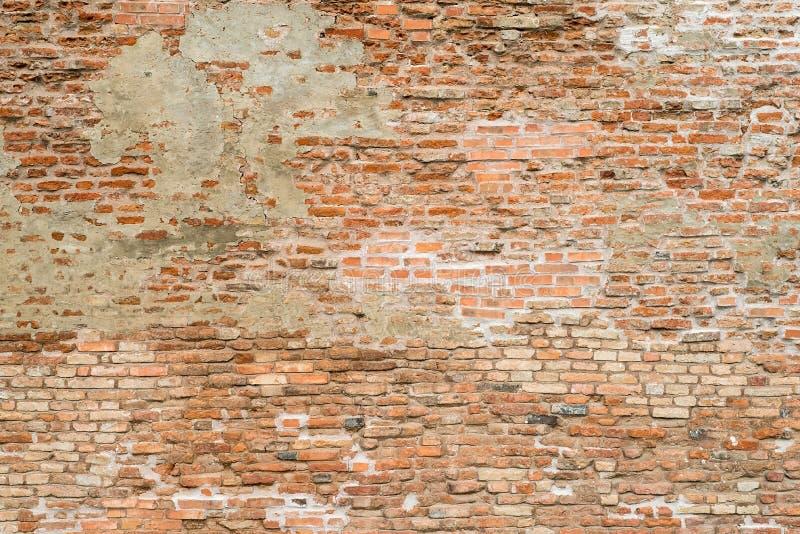 Tegelstenväggen texturerar för bakgrund royaltyfria foton
