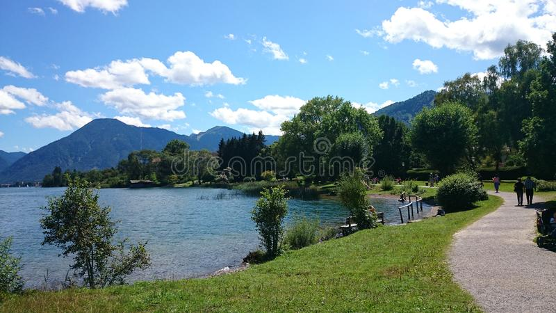 Tegernsee stock images