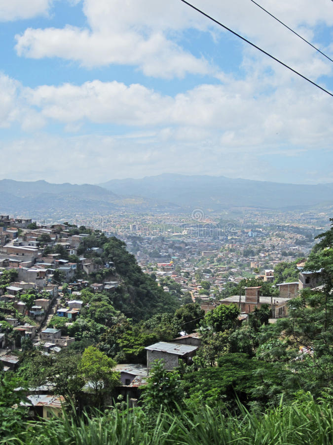 Tegucigalpa, Honduras. A section of the capitol of Honduras royalty free stock photo