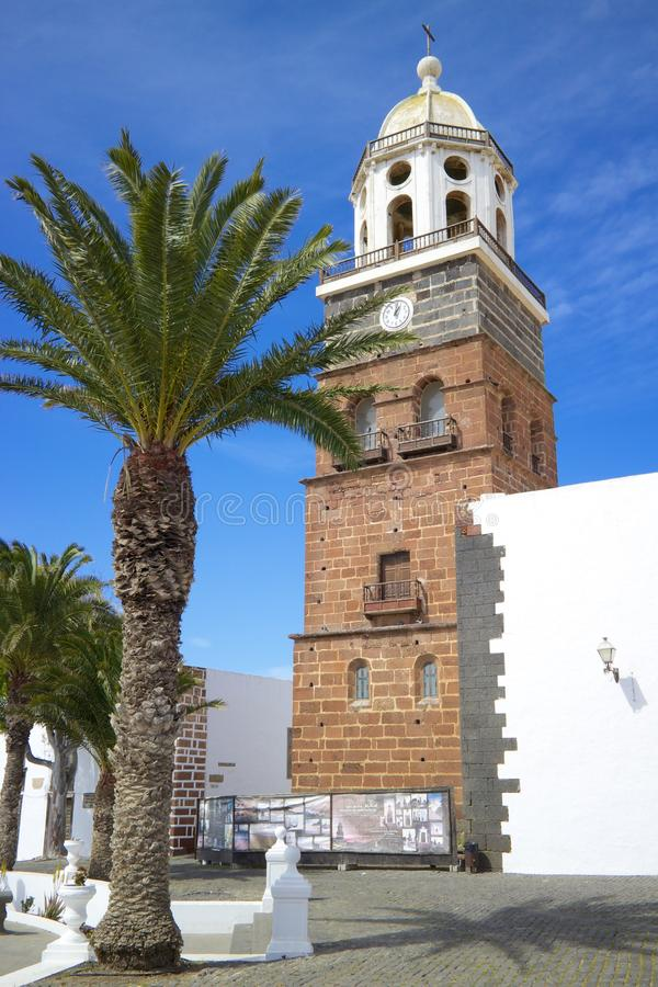 Free Teguise Church 1 Stock Images - 40174434