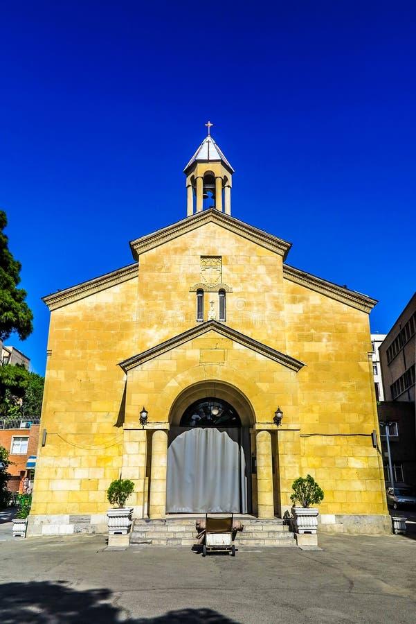 Teherán Mary Church santa 01 fotos de archivo