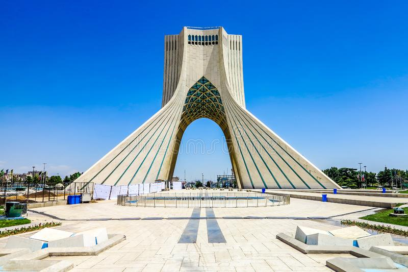 Teheran Azadi torn 01 royaltyfri foto