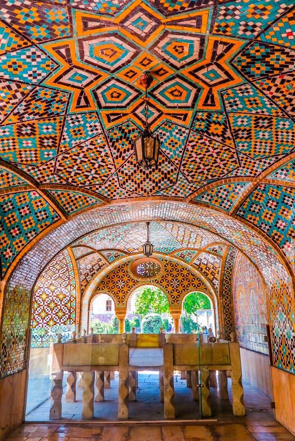 Teheran Golestan pałac 12 obrazy stock