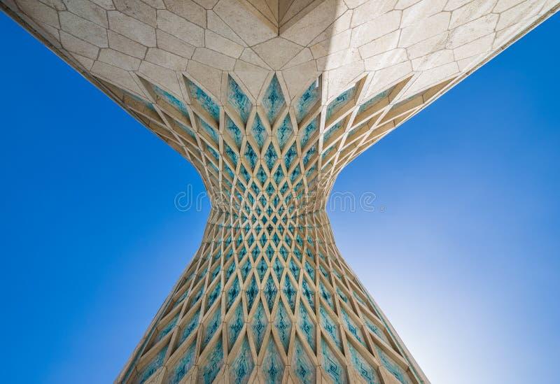 Teheran i Iran royaltyfria foton