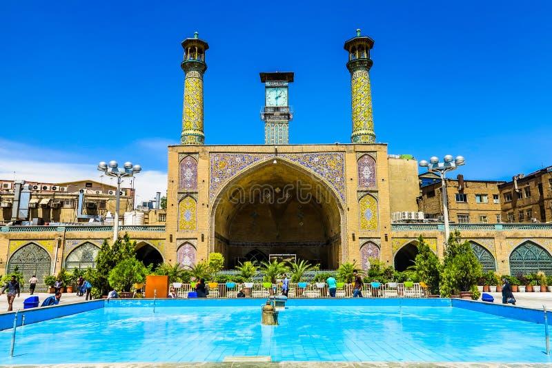 Teheran storslagen basar 12 arkivbild