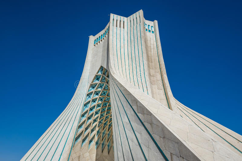 Tehran em Irã imagem de stock royalty free