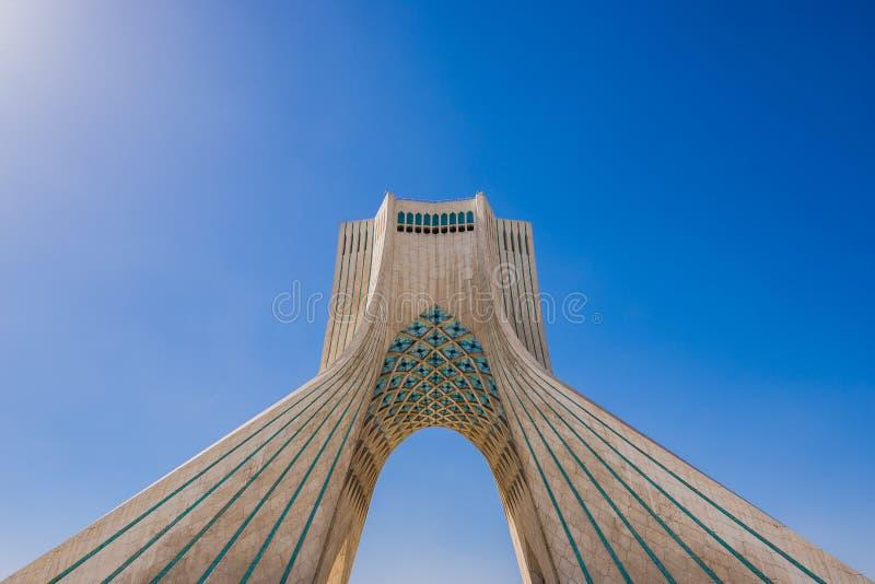 Tehran em Irã fotografia de stock royalty free