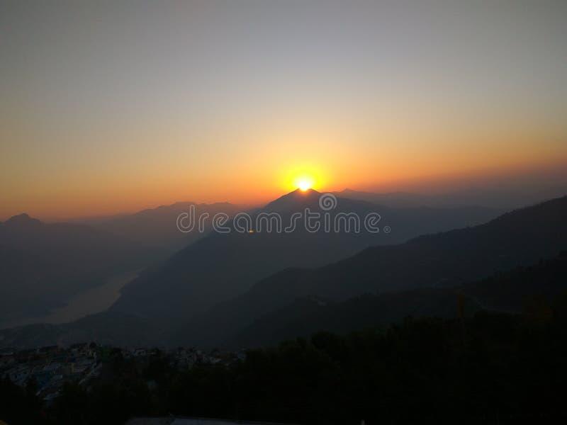 Tehri garhwal, Índia imagem de stock royalty free