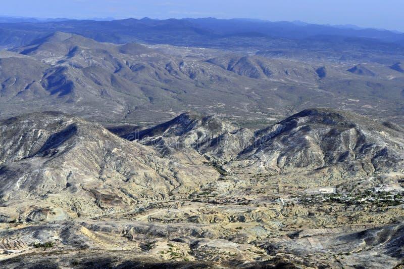 Tehuacan Valle DE stock afbeeldingen