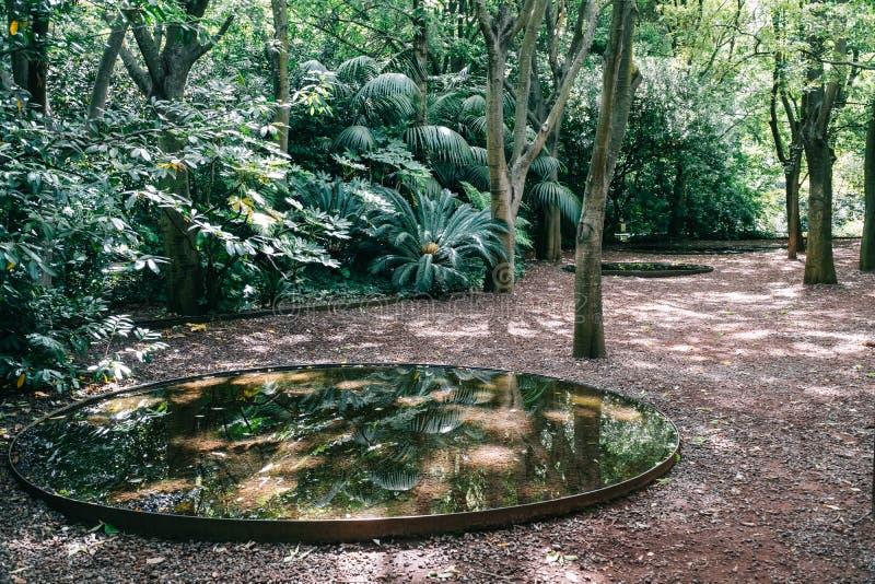 Garten Wasser Berieselungsanlagen Bewässerung Stockbild