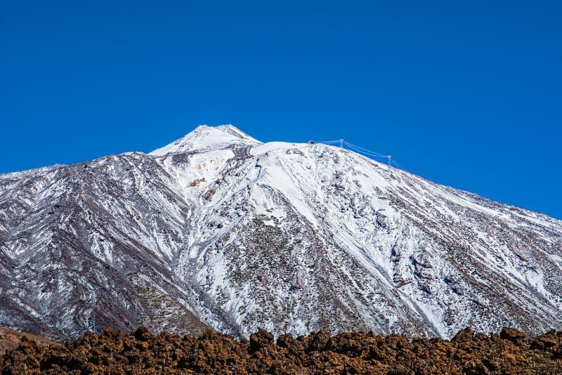 Teide国家公园, Tenerife,加那利群岛,西班牙 库存照片