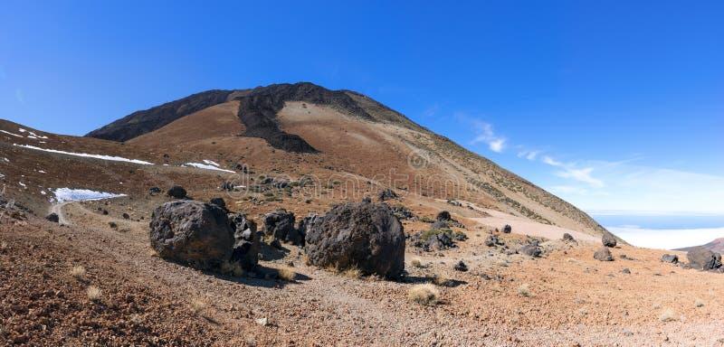 Teide ägg på Tenerife arkivbild