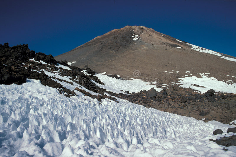 Teide. Volcano, Tenerife, Canarian Islands, Spain royalty free stock image