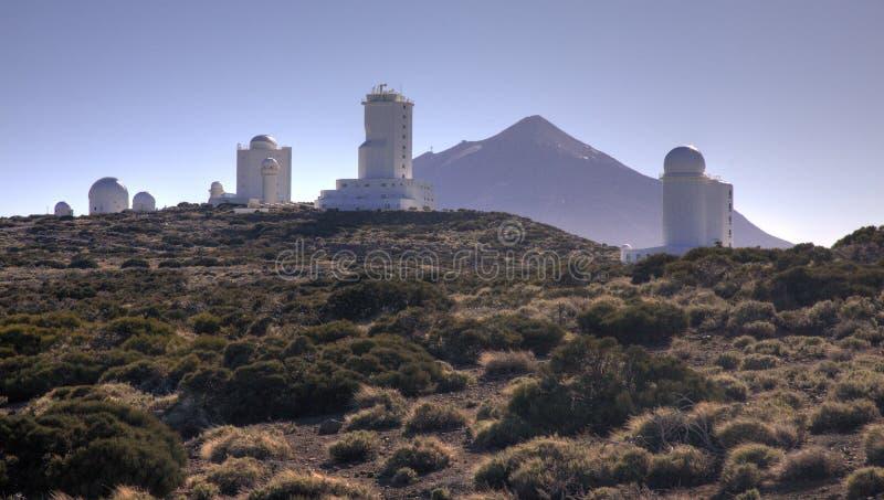 Teide Beobachtungsgremium stockfotos