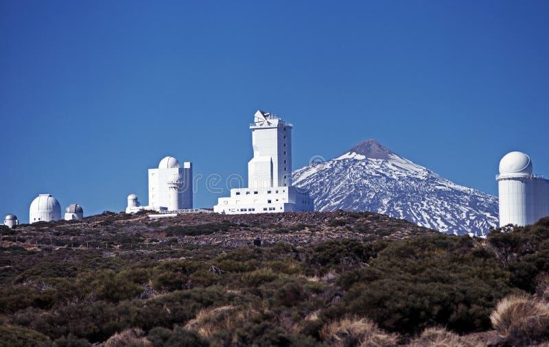 Teide Beobachtungsgremium, Tenerife. stockfotos
