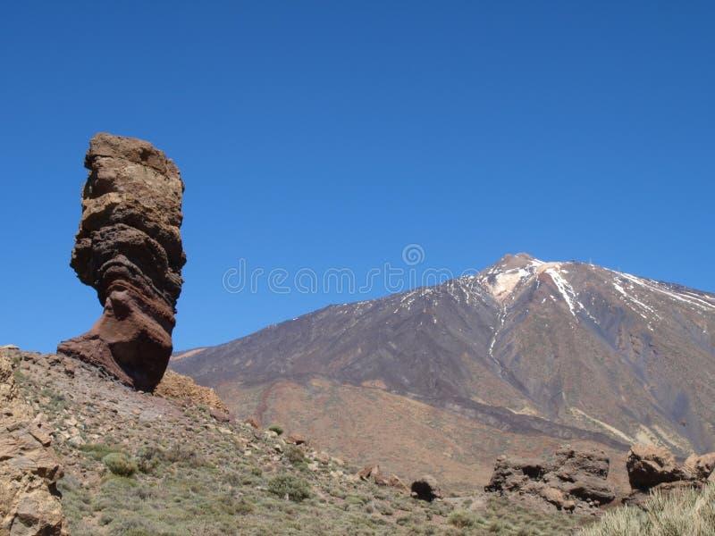 Teide da Roques de García fotografie stock
