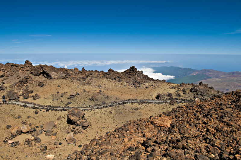 Teide national park stock photography