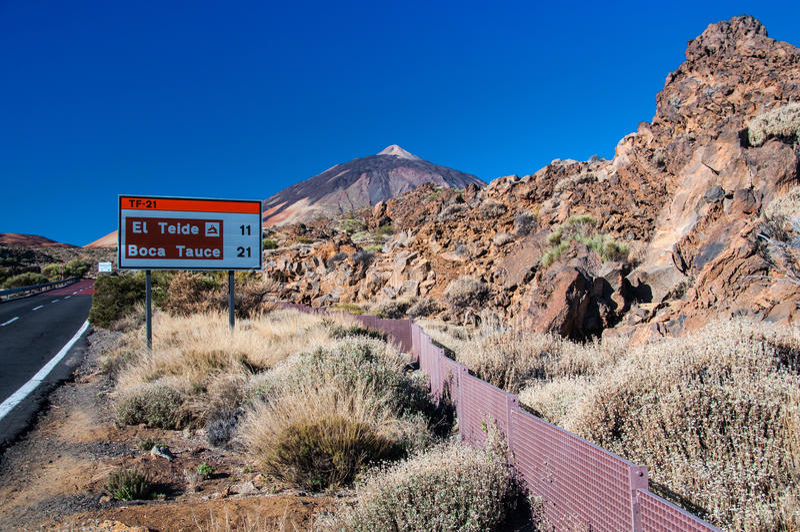 Teide national park royalty free stock photos