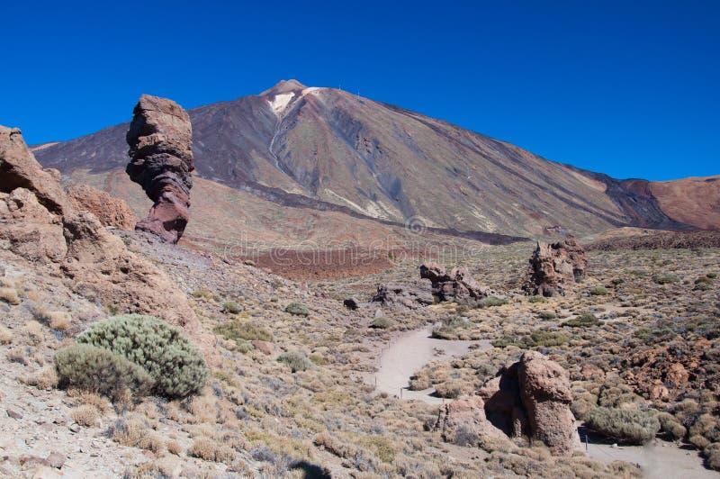 Teide national park royalty free stock photo