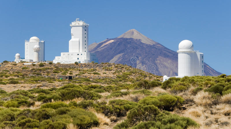 Download Teide Observatory stock image. Image of science, telescope - 26549223