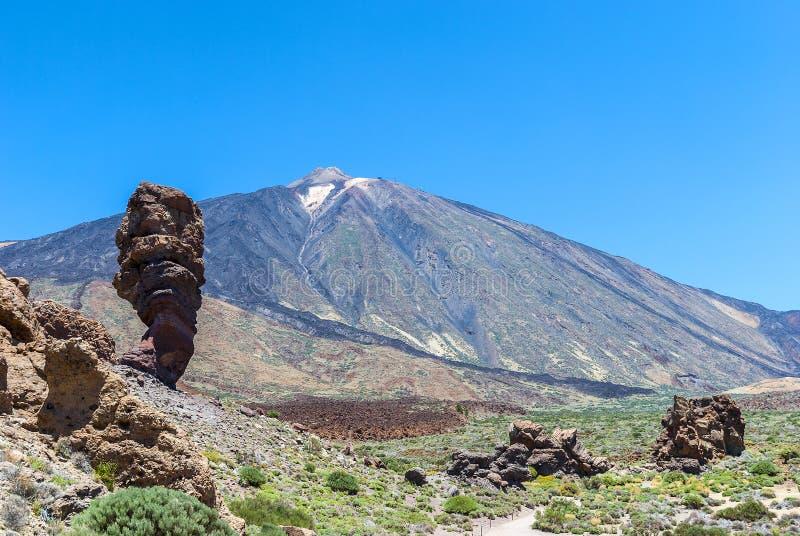 Teide park narodowy (Canadas Del Teide) obraz royalty free
