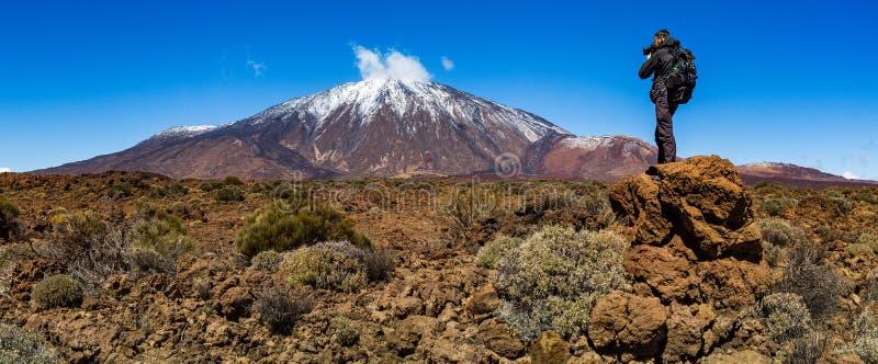 Teide park narodowy, Tenerife, wyspy kanaryjskie, wulkan fotografia stock