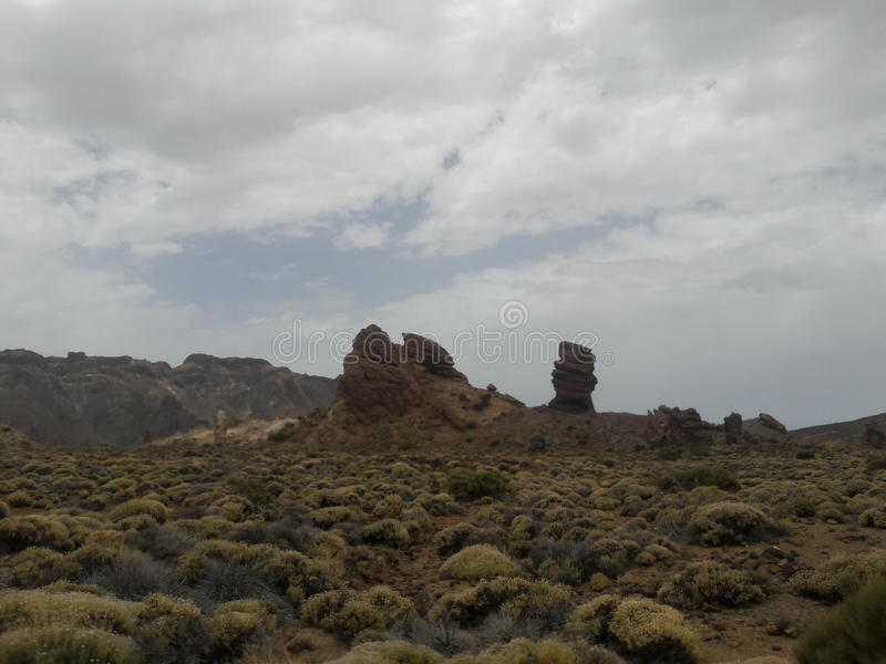 Teide rocks stock images
