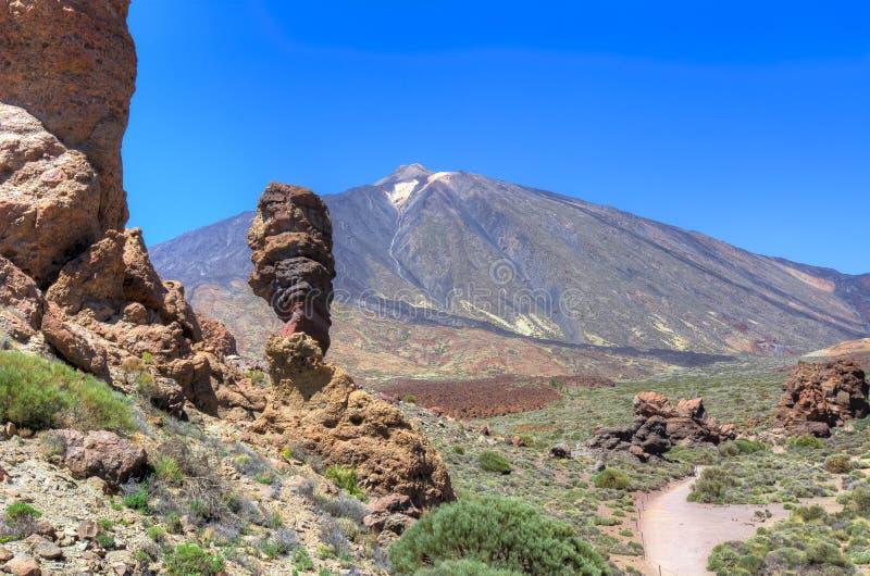 teide Tenerife obraz royalty free