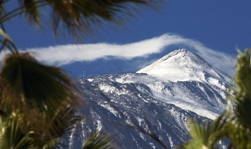 Teide View Royalty Free Stock Photo