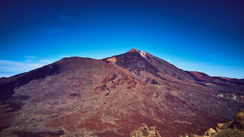 Teide Volcan sur Ténérife l'espagne Les montagnes images stock