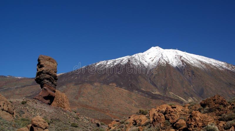 Teide Vulkan, Tenerife, Kanarische Inseln, in Spanien stockbild