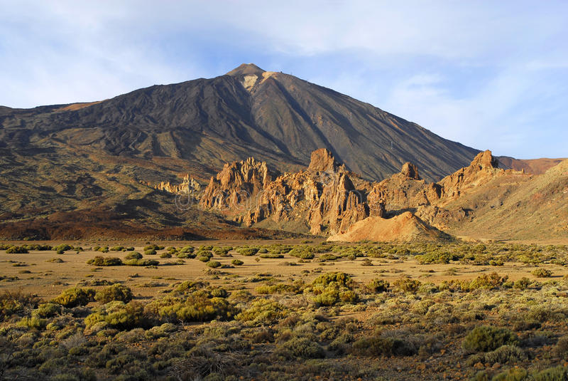 teide wulkan zdjęcie stock