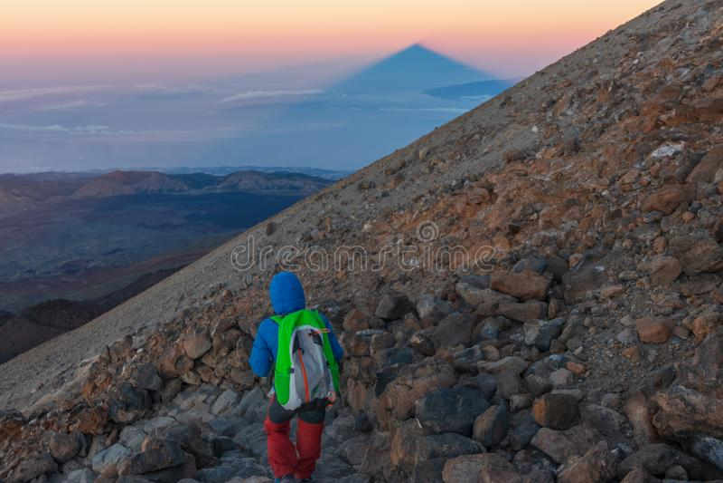 Teide wulkan w Tenerife, Hiszpania fotografia royalty free