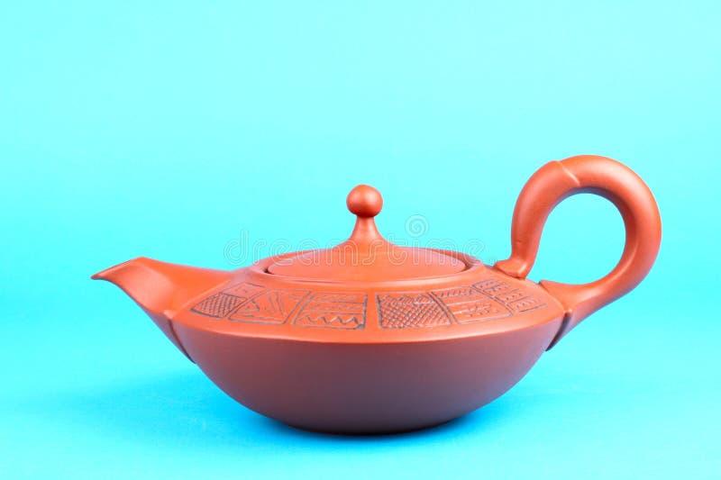 Teiera araba con l'ornamento fotografia stock