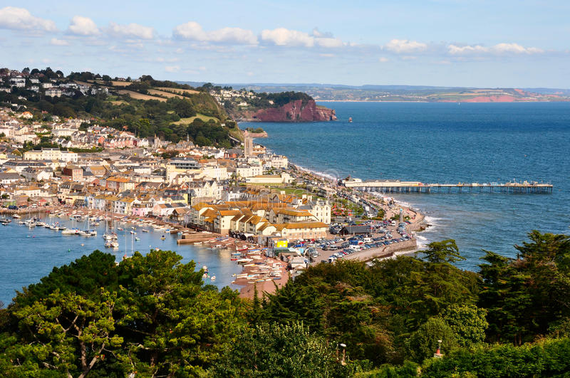 Download Teignmouth stock photo. Image of ships, boats, river - 26750900