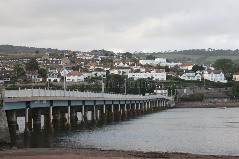 Teignmouth Devon royaltyfri fotografi