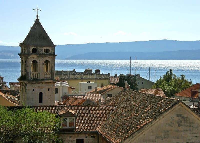 Teil der alten Stadt von Omis 2 stockfotografie