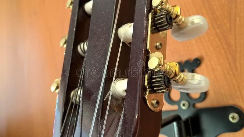 Teil der Gitarre stockfotografie