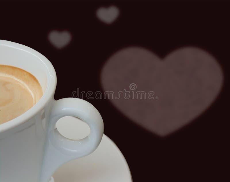 Teil der Kaffeetasse stockbild