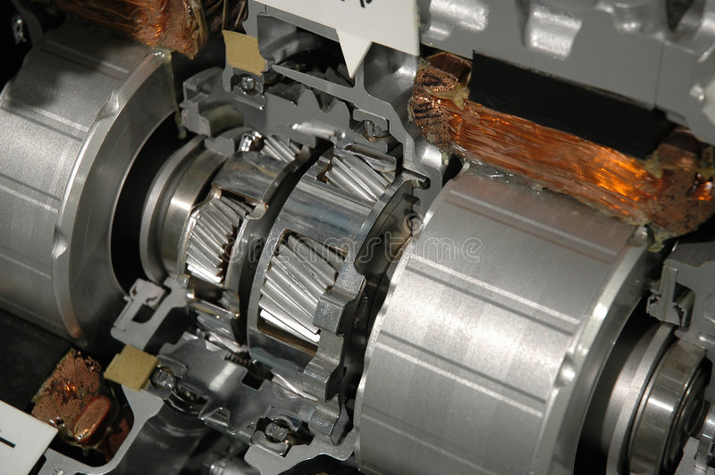 Teil des Automotors lizenzfreie stockbilder