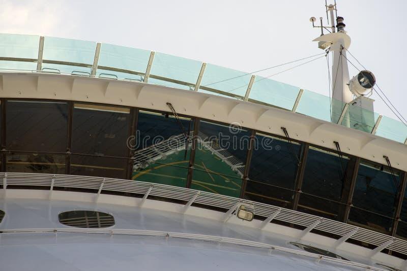 Teil des Kreuzschiffs stockbilder