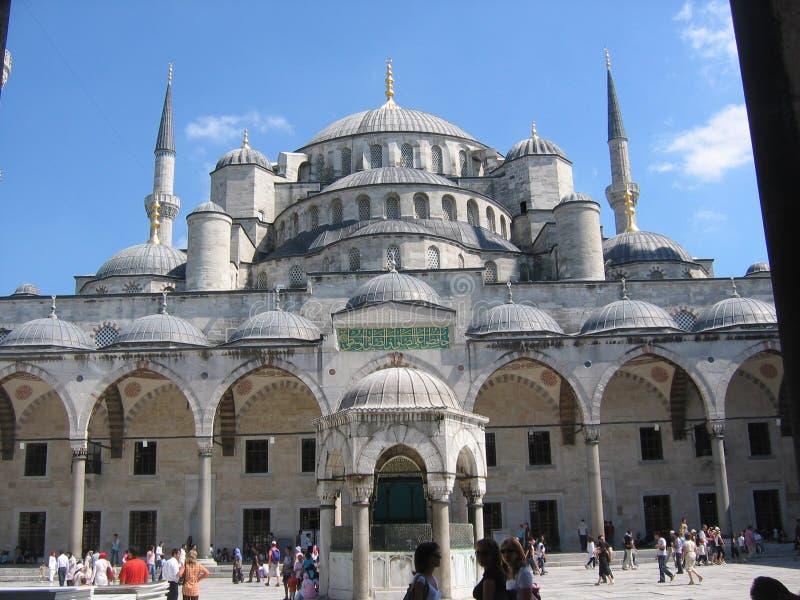 Teil des Moscheenblaus nach Istanbul in der Türkei lizenzfreies stockfoto