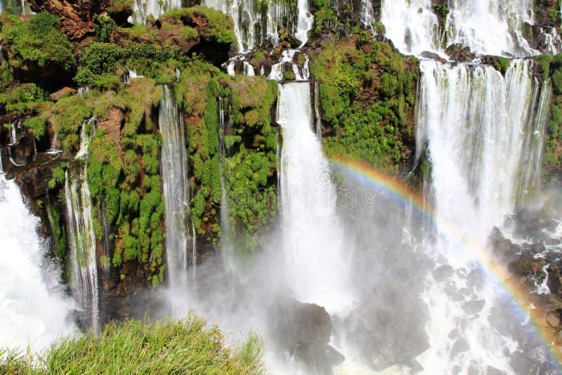 Teil größte Wasserfälle auf Erde stockbild