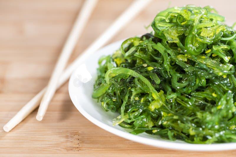 Teil Kelp-Salat lizenzfreie stockfotos