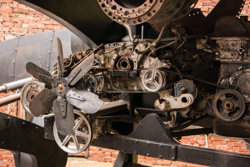 Teile der alten Maschine lizenzfreie stockbilder