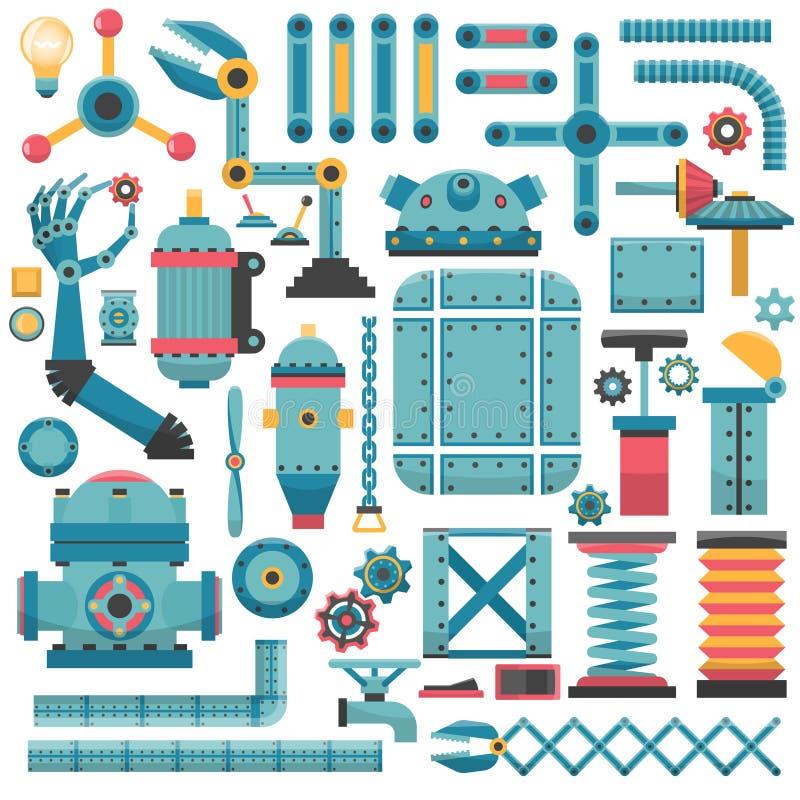 Teile für Maschine vektor abbildung